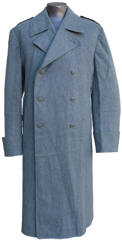 Swiss Wool Overcoat
